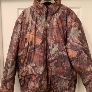 LL Bean Camo Insulated Jacket